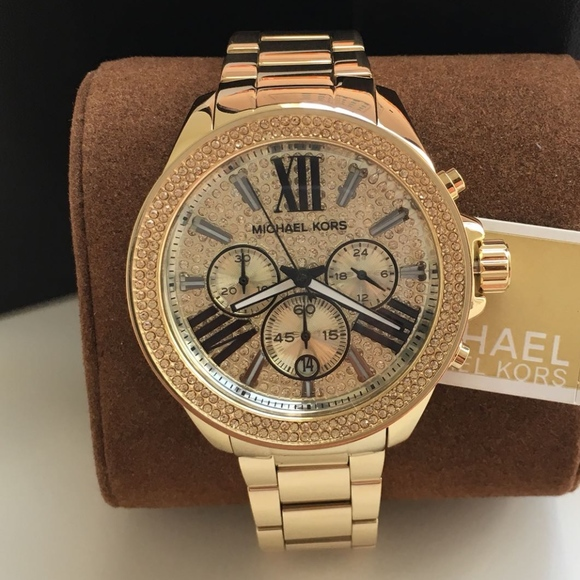 bf639d0ee870 BRAND NEW Michael Kors Gold Ladies Watch Mk6095